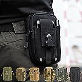 CAMTOA Leicht klein Tactical Hip Bag Hüfttasche Beintasche,Mode Multifunktional Handytasche für Camping Wandern Outdoor