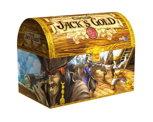 Preisvergleich Produktbild Noris Spiele 606105621 - Captain Jack's Gold, Kinderspiel