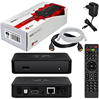 MAG 254w1 HB-DIGITAL avec WLAN (WiFi) intégré 150Mbps Original IPTV SET TOP BOX Streamer Multimedia Player Internet TV IP Receiver + HB Digital HDMI câble