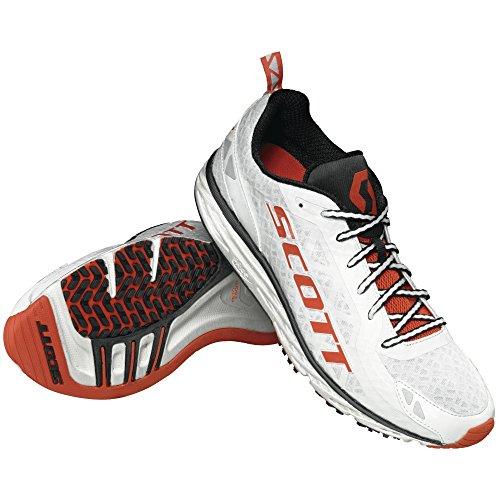 Scott race rocker 2.0 chaussures de course-blanc/orange - Blanc