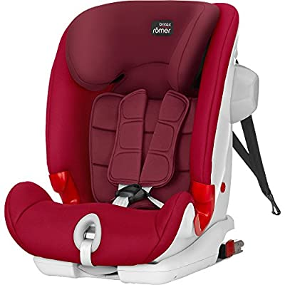 Britax Römer ADVANSAFIX III SICT Group 1-2-3 (9-36kg) Car Seat - Flame Red  DWD-Company