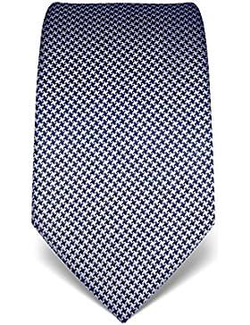 Vincenzo Boretti cravatta in pura seta, pied de poule, disponibile in diversi colori