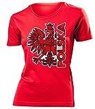 love-all-my-shirts Polen Fanshirt Polska 3204 Damen T-Shirt (F-R) Gr. XXL
