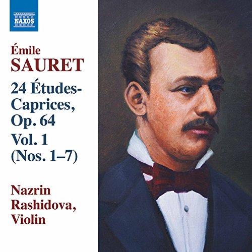 Sauret: 24 Études-caprices, Vol. 1