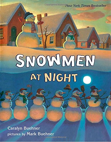 Snowmen at Night