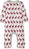 loud + proud Baby-Mädchen Strampler Overall, Druck, Violett (Orchid or), 80