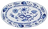KAHLA 173304A72067U Platte Zwiebelmuster, oval, 23 cm