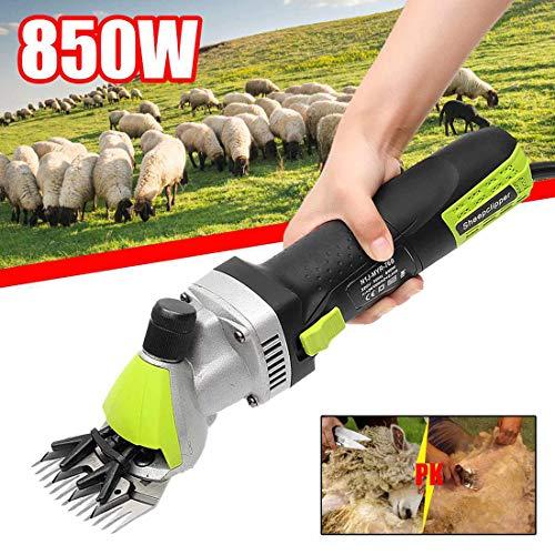 S Professionelle Schafe Schermaschine Schafschermaschine Elektrische Schafschere 850W Adjustable-Speed Haarschneidemaschine