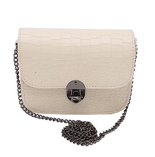 Dairyshop Borsa della borsa della borsa della borsa della borsa della borsa della spalla della borsa della spalla della signora delle donne nuovo (Beige) Beige