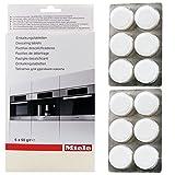 Auténtica Miele de vapor para horno descalcificador Tablets (12 unidades)