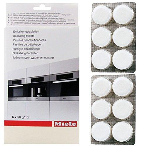 Original Miele Dampf Ofen Entkalker Tabletten (12Stück)