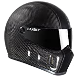 Bandit Super Street II Carbon,Fighterhelm,Motorradhelm,gute Passform,neu, Größe:L(59-60cm), Sports-Farbe:race carbon