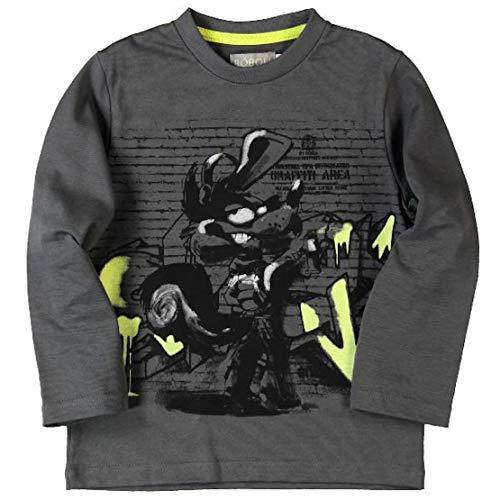 boboli Baby-Jungen T-Shirt Camiseta Punto Liso , stahl, größe 6 Jahre (Stahl-jungen Shirt)