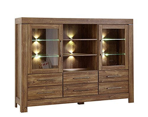 Akazie Highboard Sideboard