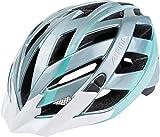 ALPINA Damen Panoma Fahrradhelm, Steelgrey-smaragd, 56-59 cm