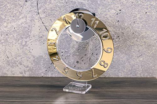 Wow Clock - Novita' Orologio Design Idea Originale Color Oro Golden Class