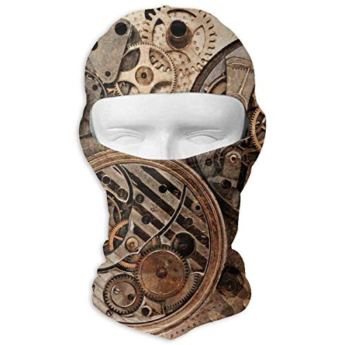 Winter Motorcycle Volle Gesichtsmaske Dust Proof Balaclava Hood for Men and Women ()