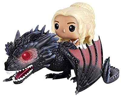 Game of Thrones Daenerys Targaryen & Drogon Vinyl Figure 15 Figurine de collection