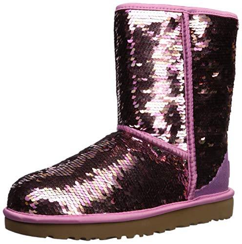UGG - Stivali Classic Short Sequin - Pink, Taglia:41 EU