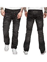 Eto Men s Designer Regular Fit Light Blue Funky Denim Jeans d5fb2496caa