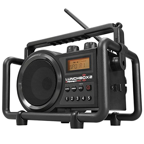 PerfectPro Lunchbox Outdoor Radio/Radio Reloj