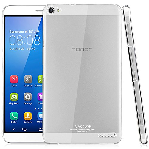 Huawei Mediapad X2 / Honor X2 Hülle, IMAK Transparentes Plastisch Hart Cover Case Kristall Klar Schutzhülle für Honor X2, Verarbeiten Dauerhaft Nano Coating [Anti-Kratzen] [Ultra dünne & Leicht]