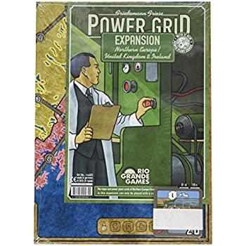 Power Grid Expansion Northern Europe/United Kingdom and Ireland