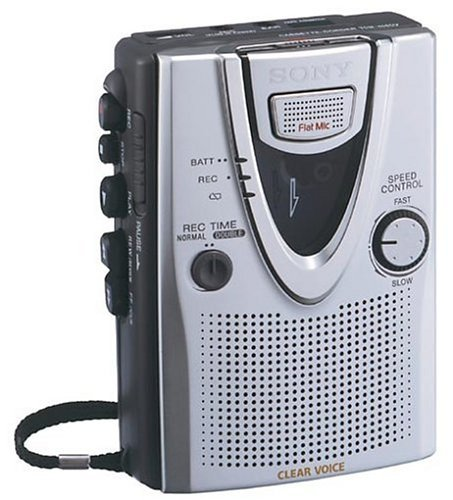 sony-tcm400dvce7-voice-operated-slim-design-compact-tape-voice-recorder