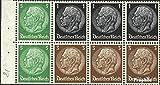 Prophila Collection Deutsches Reich Hbl81 1934 Hindenburg WZ 4 (Briefmarken für Sammler)