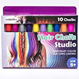 Madellena Beautiful Hair Chalk Birthday Gifts For Girls – Hair Chalk – Temporary Hair Color for Kids – Hair Chalk for Kids – Birthday Gift for Girls Age 4 5 6 7 8 9 10 11+ Birthday Gift for Girls