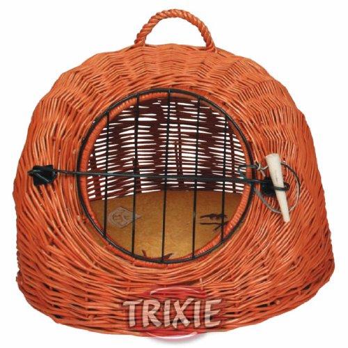 Trixie 2871 Korbhöhle mit Gitter, ø 50 cm, braun