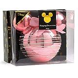 Disney Minnie Mickey Decorazione Bagattelle Confezione da 4/6 - Rosso - Confezione da 4, Misura unica