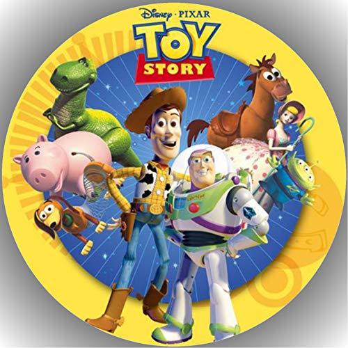 Fondant Tortenaufleger Tortenbild Geburtstag Toy Story T3 (Kuchen Toy Story Dekorationen)