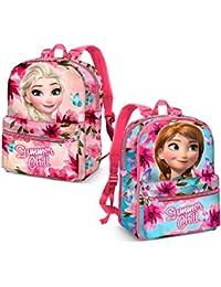 Karactermania Frozen Summer Chill Mochila Infantil, 40 cm, Rosa