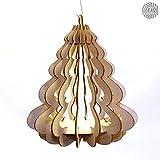 DAMASU-Bausatz 3D Baumbehang natur Tannenbaum