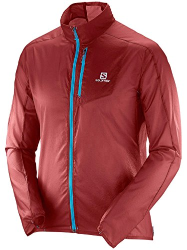 Herren Outdoor Jacke Salomon Fast Wing Outdoorjacke brique/x