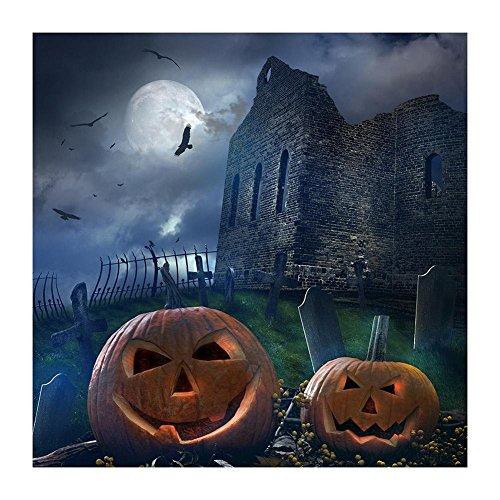 Ueb castello halloween 5d full drill diamond painting pittura del diamante diy craft pittura di ricamo con strass rotondo decorazione d'arte regalo 30 * 30 cm
