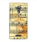 Fuson Designer Back Case Cover for Alcatel Flash 2 :: Alcatel Onetouch Flash 2 (Musical Notes Theme)