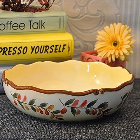 Yifom ceramica dipinta a mano underglaze cream soup bowl coppa di frutta