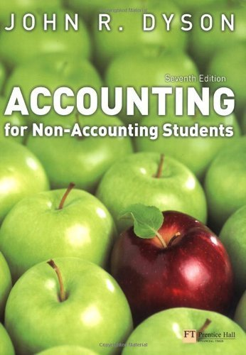Accounting for Non-Accounting Students by Dyson, John R. (2007) Paperback
