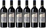 El Campo Merlot Rouge Chile rotwein (6 x 0.75 l)