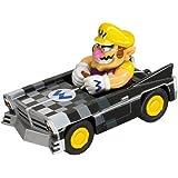 Pull and Speed - - Miniatura Radio Vehículo de control - Nintendo DS Wario Brute - Super Mario Kart DS Wario, Figura Videojuegos