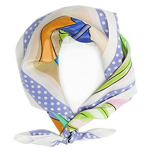 moschino-foulard-echarpe-femme-multicolore-lila-taille-unique
