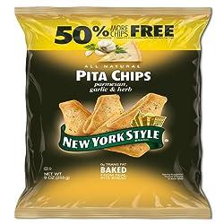 New York Style Garlic Parmesan Pita Chips 5x255g