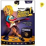Jimmy! Der Gitarren-Chef Band 2 - E-Gitarrenschule für Kinder ab 6 Jahren von Rue Protzer - mit Play-alongs auf der Jimmy-Website und Original Dunlop Plek
