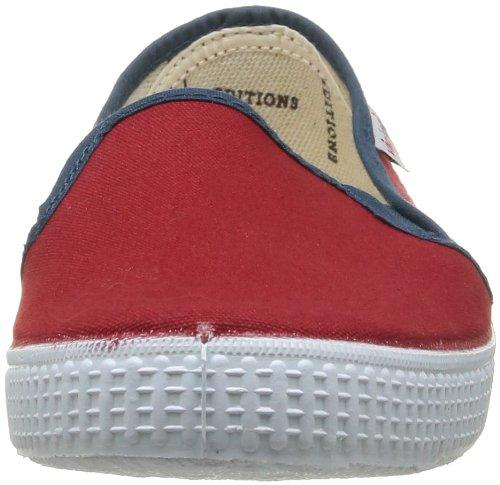 Victoria Slip On, Baskets mode mixte adulte Rouge (Carmin)