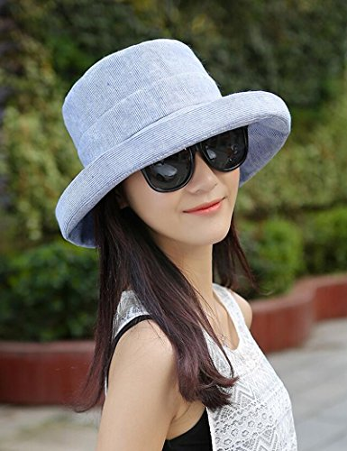 Chapeau de soleil d'été Été féminin Pliable chapeau de soleil de plein air Anti-UV Grandes corniches Crème solaire chapeau de soleil Pour les voyages de plage sortants ( Couleur : 2 ) 2
