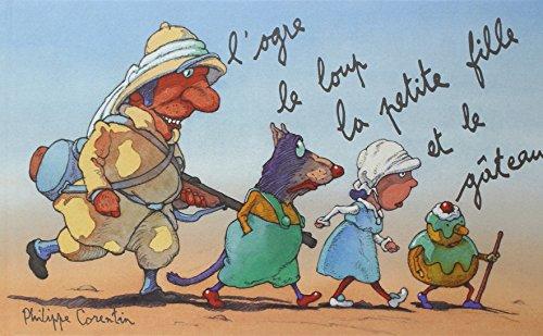 L'Ogre, le loup, la petite fille et le gteau