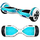 MightySkins Skin Self Balancing Mini Scooter Hover Board - Blue Vintage | Protective, Durable Unique Vinyl Decal Wrap Cover | Easy To Apply, Remove Change Styles | Made In The USA