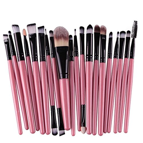 Hosaire Make-up Mode Dame Makeup Pinsel Set mit 12 Farben (20 pcs/set)
